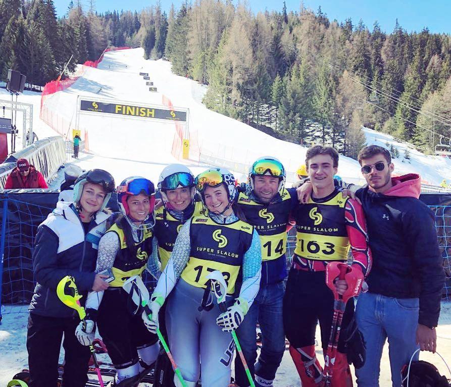 La Team au Super Slalom - La Plagne - Mars 2019