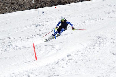Entraînement slalom Hintertux Juillet 2016