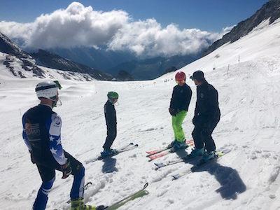 Entrainement / Compétition stage de ski 3 Hintertux 2016