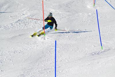 training slalom FIS ski camp