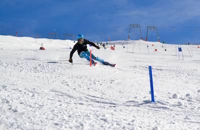 entrainement mini piquets slalom