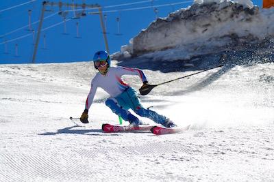 entraînement slalom Hintertux Août 2016